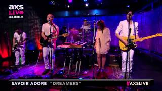 "Savoir Adore Performs ""Dreamers"" on AXS Live"