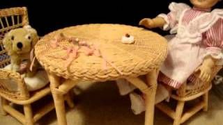 Review On American Girl Doll Samantha's Table And Chairs!