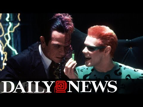 Jim Carrey says Tommy Lee Jones hated him during 'Batman Forever