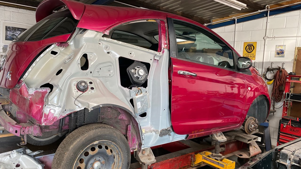 Copart Salvage Rebuild Ford KA More Damage Uncovered