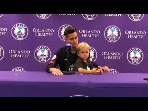 Ashlyn Harris | Orlando Pride Postgame Press Conference (Full)
