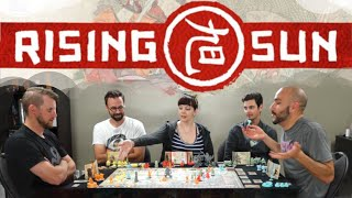 Rising Sun - Full Board Game Play Session