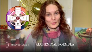 Womb-Moon Alchemical Formula: embodied way to process fear and any challenging emotions