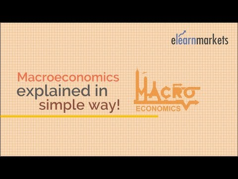Macroeconomics explained in Simple Way!