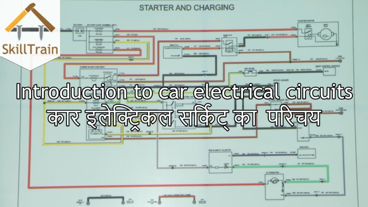 Circuit Diagram In Hindi Not Lossing Wiring Mobile Charger Introduction To Car Electrical Youtube Rh Com