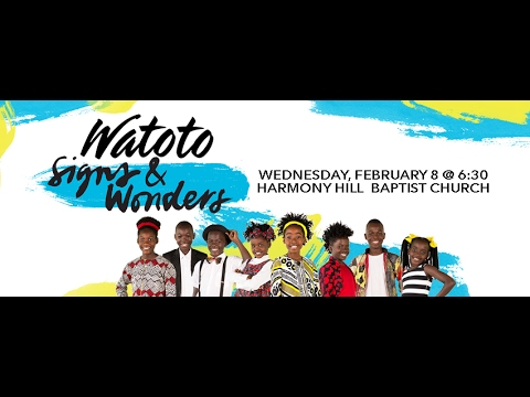 Watoto Children's Choir at Harmony Hill Baptist