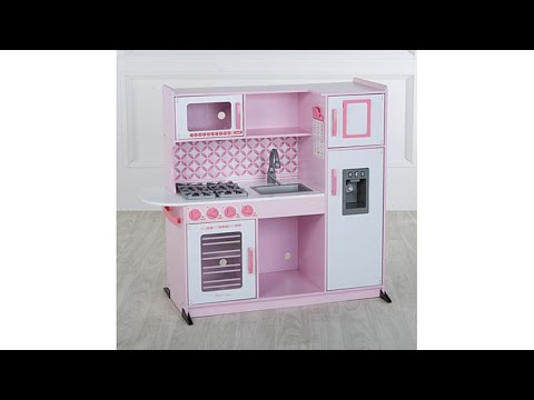 Melissa Doug Chef\'s Play Kitchen with Accessory Set