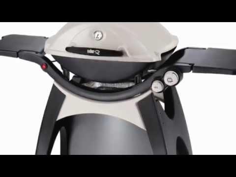 Weber Q 320 Portable Liquid Propane Gas Grill