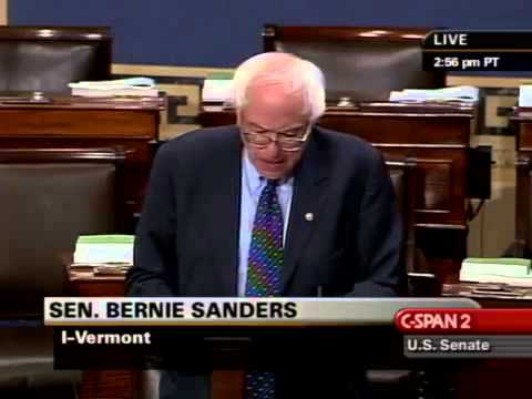Bernie Sanders: Origins of the Wall Street Crisis (9/16/2008)