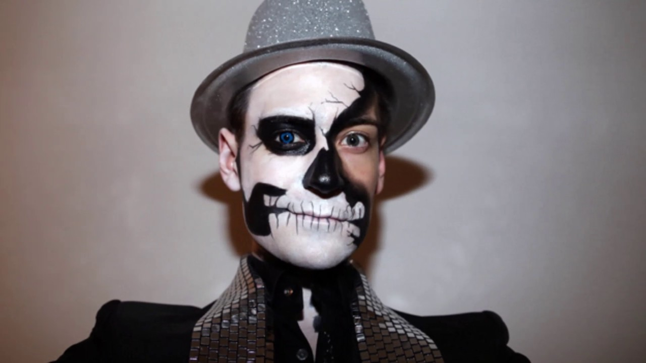 Scary Halloween Costumes and Creepy Makeup Ideas for Men Spooky gosts,  dead men, creepy