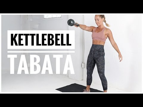 12 Minute // KETTLEBELL TABATA Workout