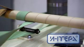 Гильзонамотка - станок для производства картонных гильз, втулок(, 2016-07-11T06:19:33.000Z)