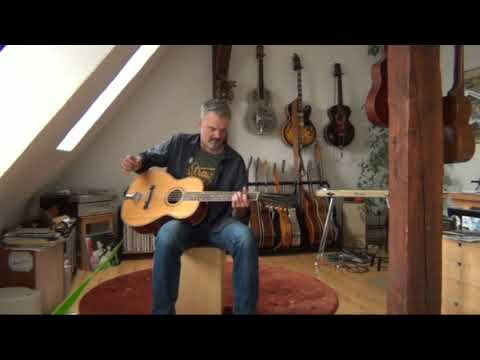 Country Blues on a 12 String Guitar