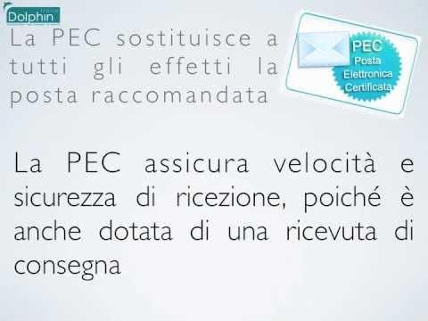 PEC Dolphin Italia - Posta Elettronica Certificata