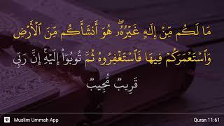 Qs 1161 Surah 11 Ayat 61 Qs Hud Tafsir Alquran