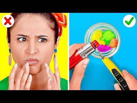 Kendin Yap Güzellik Ürünleri ve Havalı Numaralar    Mutlaka Denemen Gereken Saç ve Makyaj Fikirleri