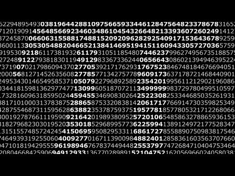 Pi by Hard 'n Phirm HD (Extended Pure Numbers)