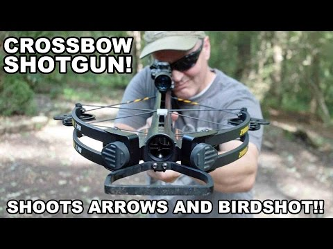 Crossbow Shotgun! Zubin X340