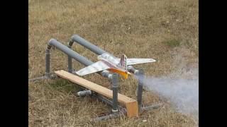 modele ME163 rocket a moteur poudre