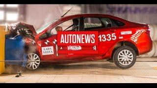 Краш-тест Lada Vesta(По вопросам рекламы и сотрудничества: AutoNewsACS@ya.ru В рамках программы ARCAP по оценке пассивной безопасности..., 2016-01-18T18:10:29.000Z)