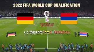 GERMANY vs ARMENIA 2022 FIFA World Cup Qualifiers Realistic Gameplay