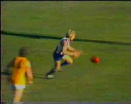 Kevin Johnson - Aussie rules I thank you