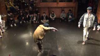 NIGHT CARINVAL'16  FREESTYLE<BEST4 CELL vs KOHKI aka i'LL>