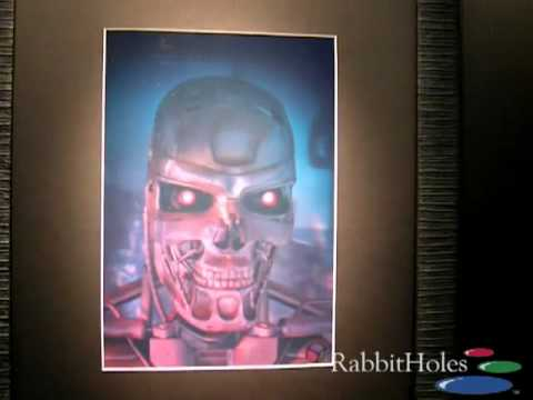 Holographic Samples From Rabbitholes. Full Color Holoprints. Holograms For Sale.