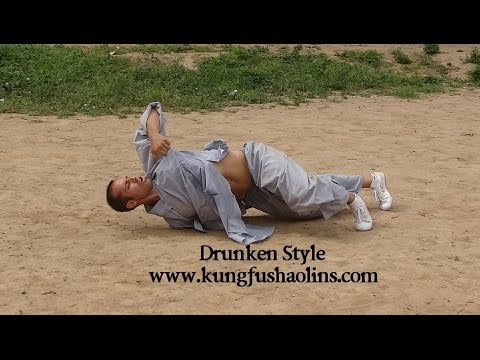 Shaolin Drunken Style with Marcelo Leal, Spain