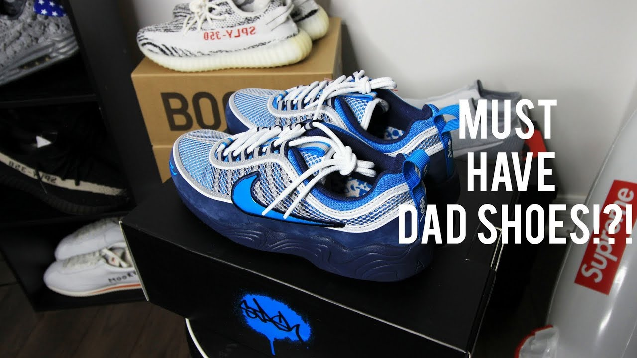 online store 3e7d0 ade1a A DOPE, HYPE COLLAB DAD SHOE! EARLY LOOK AT STASH X NIKE AIR ZOOM SPIRIDON