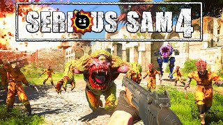 My nipples are hard like pencil erasers | Serious Sam 4