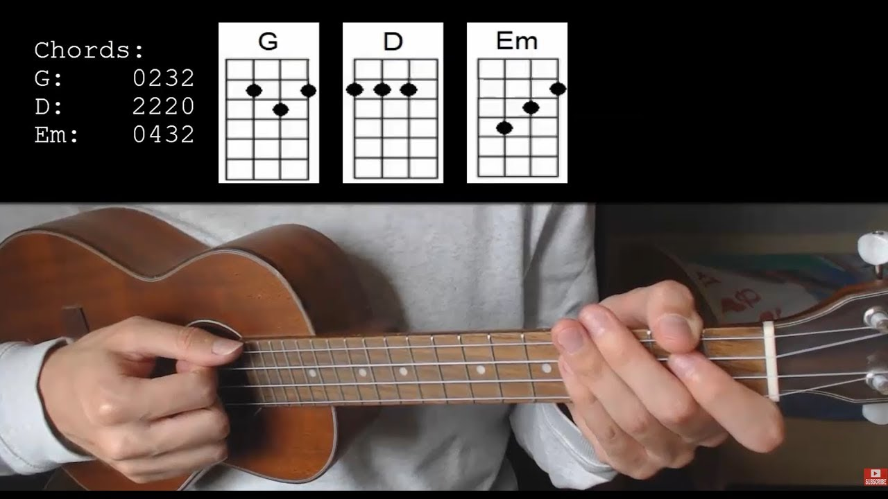 bts v winter bear easy ukulele tutorial with chords lyrics youtube