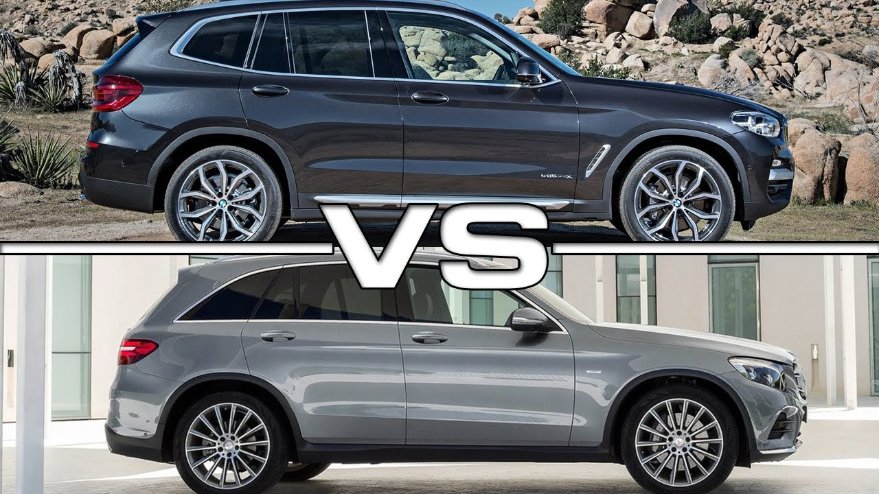 2018 bmw x3 vs 2016 mercedes glc youtube. Black Bedroom Furniture Sets. Home Design Ideas