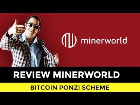REVIEW MINERWORLD. BITCOIN MINING PONZI WITH NO PROOF!