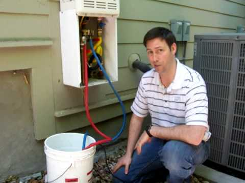 Maintaining A Tankless Water Heater