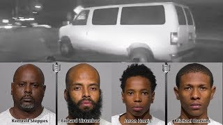 Police Chase $1 million Multi-State Burglary Suspects