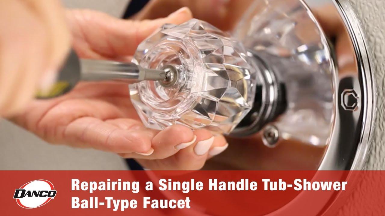 Repairing A Leaky Single Handle Tub
