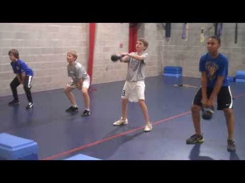 Youth Strength & Conditioning   Class Example #1