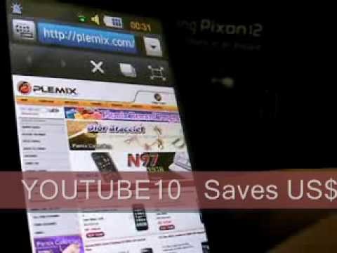 Samsung M8910 Pixon12 Unboxing Video