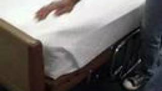 Cna Skill Mitred Military Or Hospital Corners On A Bed