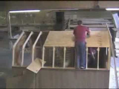 Building A Gambrel Roof In 10 Minutes Youtube