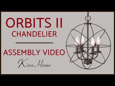How to Install the Orbit II Orb/Sphere Chandelier