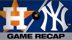 Astros hit 4 HRs to end losing streak | Astros-Yankees Game Highlights 6/23/19