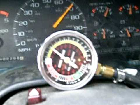 Boost Gauge Showing Full 15 Psi Boost At 65 Mph  6 5 Turbo