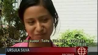 Testimonio de sudor excesivo en las manos - Úrsula Silva