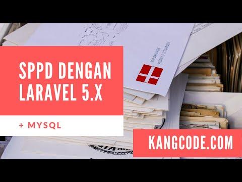 Source Code Gratis Surat Perjalanan Dinas dengan Laravel 5.x & MySQL