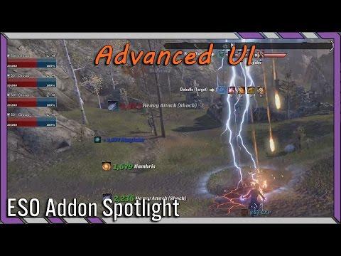 Advanced UI AUI | ESO Addon Spotlight | Elder Scrolls Online Best Addons