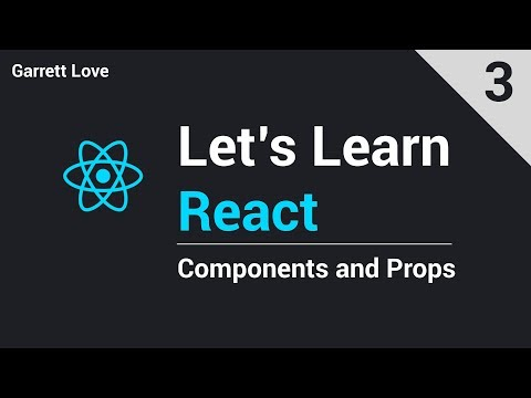 React - Components and Props (Part 3) thumbnail