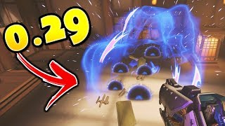 Wombo Combo Kills 6 In Just 0.29 SECONDS..!!- Overwatch INSTANT Wombo Combos