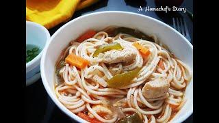 Chicken Thukpa|Tibetan Inspired Noodle Recipe|Easy Thukpa Recipe for beginners